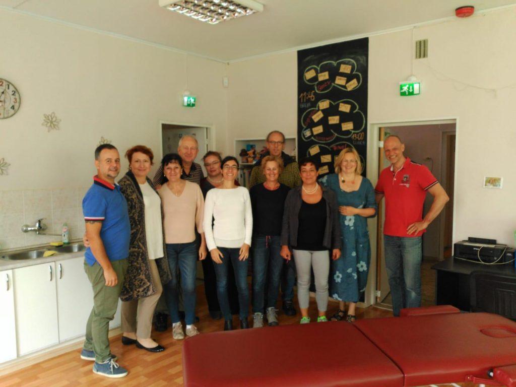 Foto di gruppo dei partners del progetto